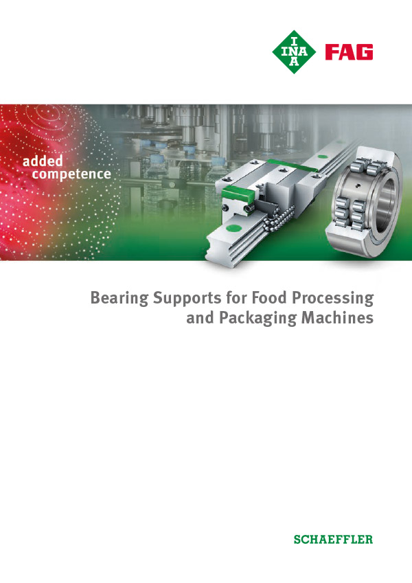 Bearing Supports for Food Processing and Packaging Machines