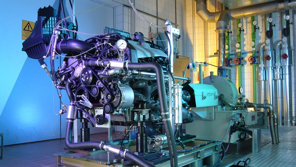 Schaeffler riešenia pre motocykle a špeciálne vozidlá: Skúšobne motorov