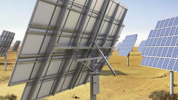 Sledovacie sú zariadenia predovšetkým pri koncentračnej fotovoltaike.