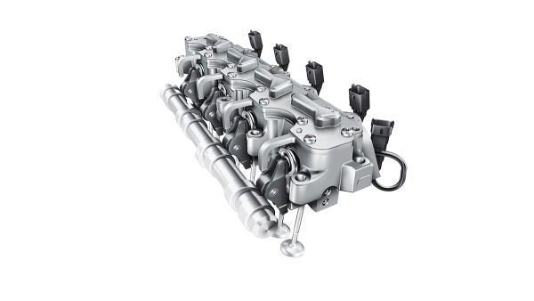 Plnevariabilný elektrohydraulický systém ventilového rozvodu UniAir