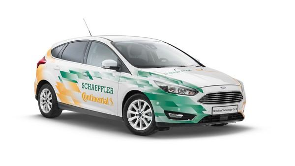 Koncepčné vozidlo Gasoline Technology Car II (GTC II)