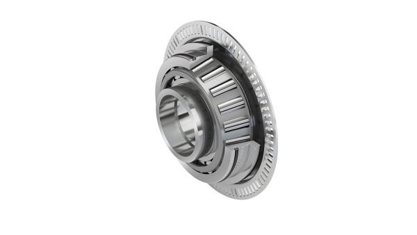 Kuželíkové ložisko s magnetovým kolesom