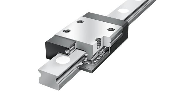 Schaeffler lineárne vedenia: Štvorradové miniatúrne jednotky sobehom guliek