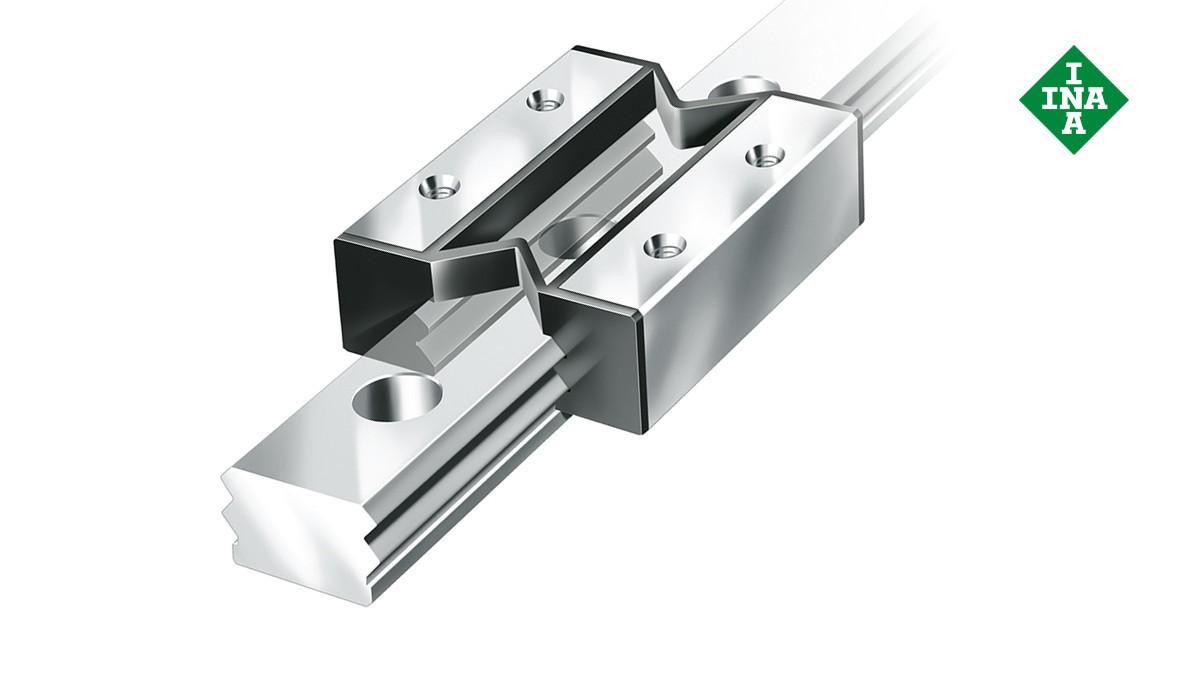 Schaeffler lineárne vedenia: Miniatúrne klzné vedenia