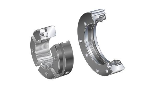 Schaeffler valivé a klzné ložiská: Nosiče tesnení / precízne matice s drážkou