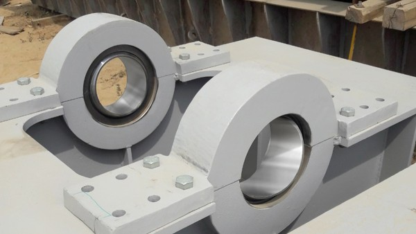 Learn more about the bearing application in the dam project.
