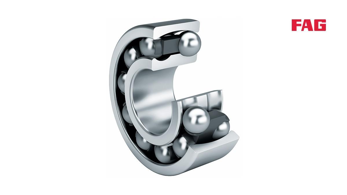 Schaeffler valivé a klzné ložiská: Naklápacie guľkové ložiská