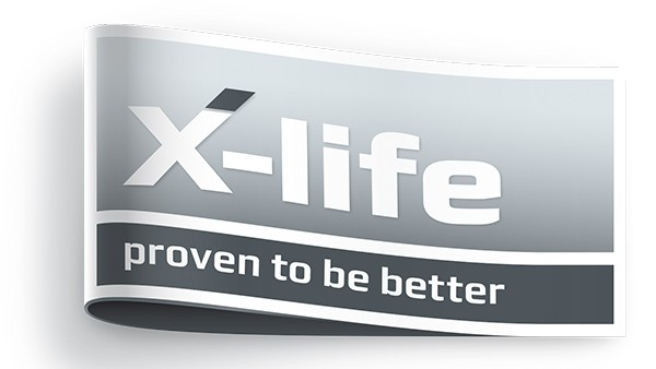 X-life je pečať kvality pre obzvlášť výkonné produkty značiek INA a FAG.