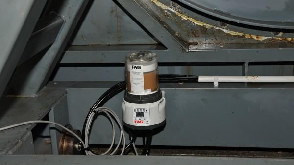 Mazací prostriedok CONCEPT8 zo Schaeffler na úpätí krytu ventilátora