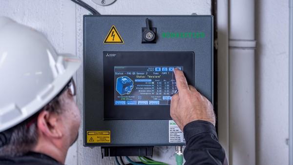 Ako predkonfigurovaný systém Plug-and-Play SmartQB nevyžaduje žiadne predchádzajúce znalosti v oblasti Condition Monitoringu.