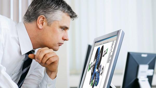 Spoločnosť Schaeffler s programom BEARINX vyvinula špičkový program na výpočet valivých a klzných ložísk.