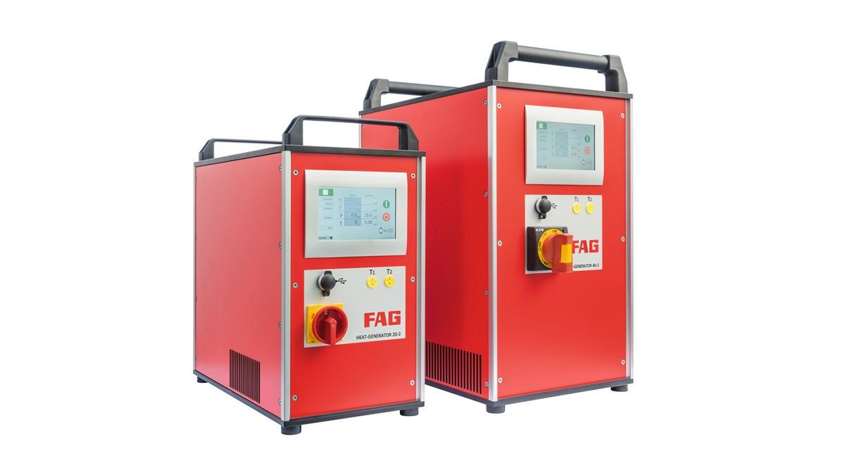 Schaeffler produkty údržby: Indukčné zariadenia so stredofrekvenčnou technikou