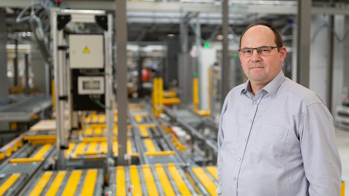 Egon Grief, vedúci údržby EDC-stred spoločnosti Schaeffler